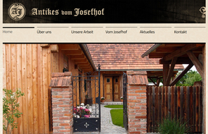Website Antikes vom Josefhof