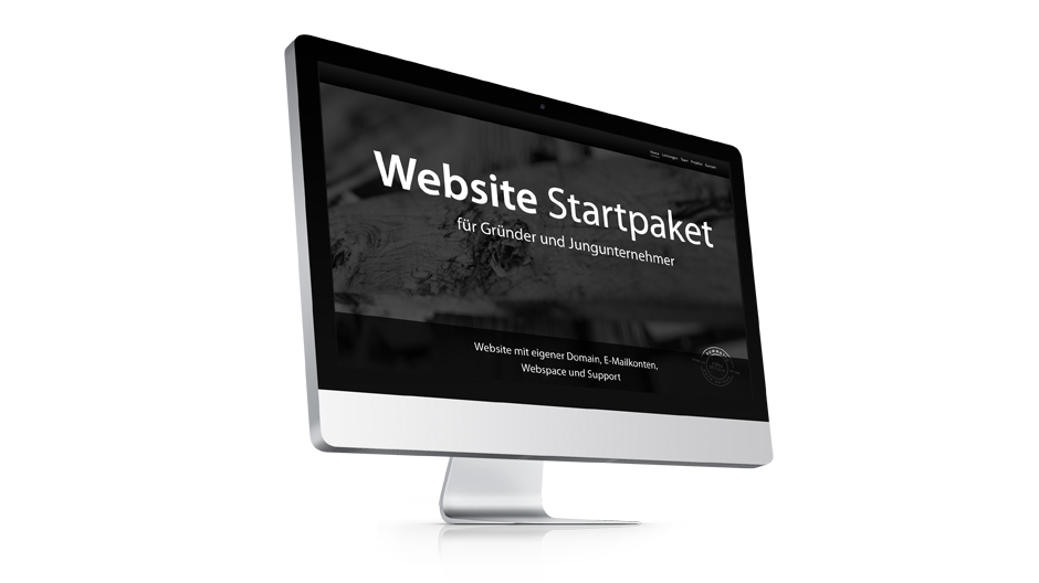 Website Startpaket Background