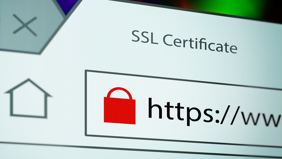 SSL (https) - Sichere Übertragung Ihrer Daten Background
